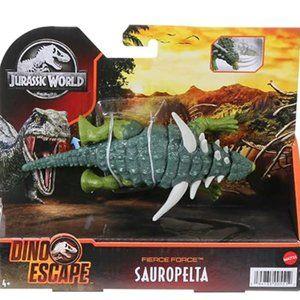 Jurassic World Fierce Force Sauropelta Dinosaur Action Figure